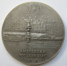 Lajos Ratkai – Historical medal Amsterdam 700 years city