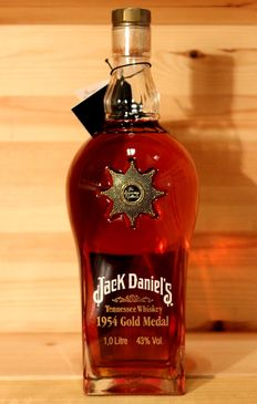 Jack Daniel's '1954 Gold Medal', Brussels, Belgium, 1 Litre, 43% Vol. Limited edition
