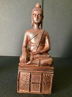 Buddha in terracotta – China – 21st century