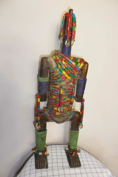 Very large NAMJI fertility doll - Cameroon