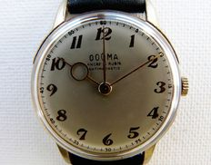 DOGMA Ancre Man's Dress Wristwatch World War Two Period - Circa Early 1940s