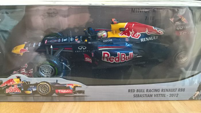 Minichamps - Scale 1 18 - Red Bull Racing Renault RB8 - Sebastian Vettel  2012 e89a738073