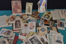 Lot of vintage devotional postcards - Portugal - 1940