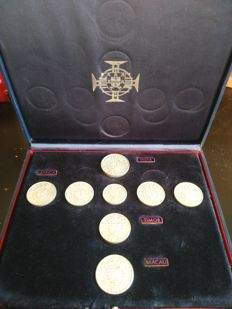 Portugal – Coins from the Colonies (silver) – 1959 to 1974