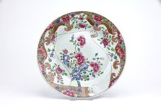Famille Rose Plate - China - ca. 1750.