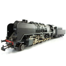 Märklin H0 - 3419 - Steam locomotive with towed tender Series 49 of the NS