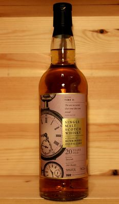 Benrinnes 20 years old (Edition Time II) Single Malt Scotch Whisky, 50% 70cl, only 280 bottles
