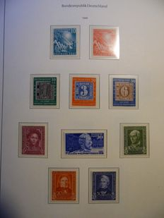 Federal Republic of Germany 1949/2000 – collection in album – between Michel 111 and 2155.
