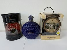 3 decanters - Clubhouse 1,191kg + 1 Old St Andrews Millennium 1,079kg + Old St Andrews Twilight 10 Years Old  1,521kg