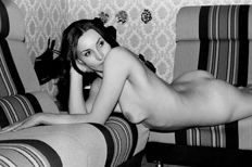 Photo; Lot with 5 nude images created in the GDR-1970s