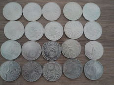 Germany, Austria – Various silver coins