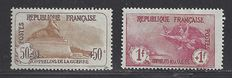 France 1917/1918 - Orphelins de la Guerre - Yvert nº 153 and 154