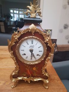 Exclusive Gallo table clock, boulle style - Italy, 2005