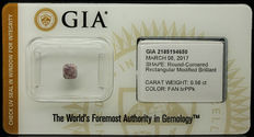 0.56 ct GIA Fancy B. Purple-Pink Diamond - NO RESERVE