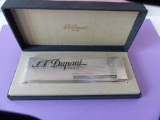 S.T. Dupont table lighter, 1 year guarantee, silver-plated 2000
