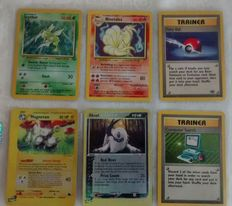 Pokémon - Small collection of rare cards (see description for more details) includes Base set Holographic, Reverse Holo and Trainer Cards