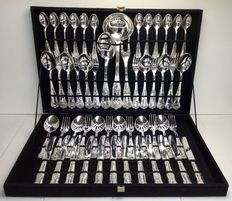 12 persons 51-piece flatware in box - AMZ 800, super stainless steel