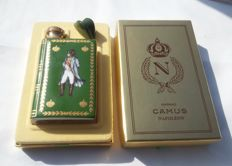 Camus Napoléon Cognac in Limoges Castel Flask gilded with 22K Gold