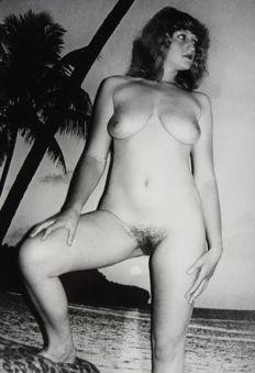 Amateur; Lot with 180 anonymous nude photos - 1970s/1980s