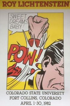 Roy Lichtenstein (after) - Sweet Dreams, Baby!