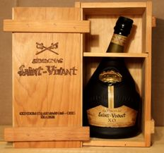 Armagnac Saint-Vivant XO - 70cl bottle in original wooden box. 40% vol.