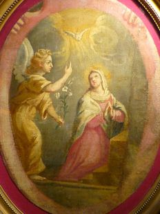 Spanish school (18th century) - The Annunciation