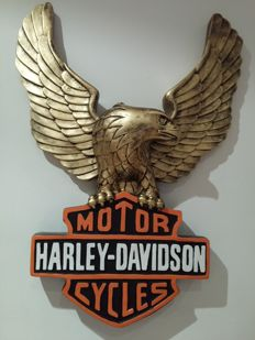Eagle icon Harley-Davidson Motorcycles - beautiful sculpture