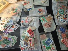 World - over 10,000 different stamps