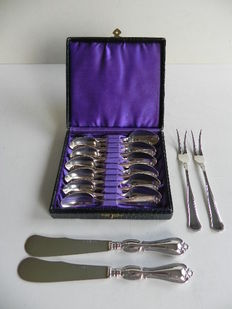Miscellaneous silver, GAB, Sweden, 1949