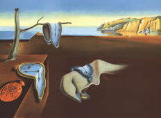 Salvador DALI (after) - The persistence of memory (La persistance de la mémoire)