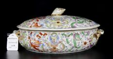 Very Rare Tureen with Dragons - China - 19th Century.