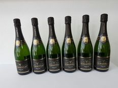 G.H. Martel & Co. Prestige Brut, Champagne, France - 6 bottles (750ml)
