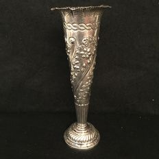 "Flower vase ""Tiffany & Co"" Paris, signed P.P."