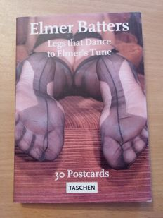 Postcards; Elmer Batters - Legs that Dance to Elmers Tune - 30 postcards - 1997