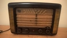 Tube radio - Philips BX 490A - from 1949