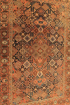 High quality, fine, antique, Persian palace carpet, Keshan Keshan, cork wool, circa 1930, made in Iran, 135 x 200 cm, naturally coloured