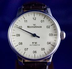Meistersinger No. 3 - mens' watch - 2008.