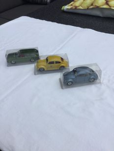 CKO-Kellermann, Western Germany - M. 1/36 - Tin Rollo series 425 Tin 425 VW Bundespost, 446 VW Passat Variant and 394 VW 1300 with friction drive, 70s