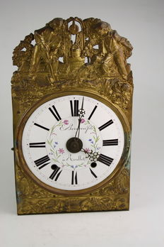 Antique comtoise - period: approx. 1850 - France - to be refurbished clock/clock parts