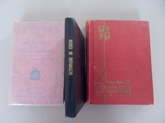 Lot of 3 dictionaries - cooking, herbs and wine - 1906/1946