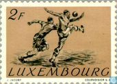 Postage Stamps - Luxembourg - Football