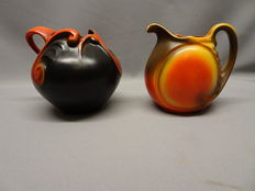 Mosa - Two stylish art deco jugs