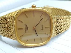 Longines 18k gold plated watch