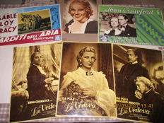Metro Goldwyn Mayer (MGM original posters with photos  (1930-1940) plus italian's original posters