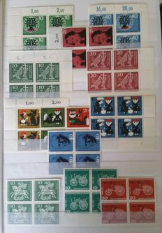 Federal Republic of Germany 1960/1992 – collection in blocks of 4