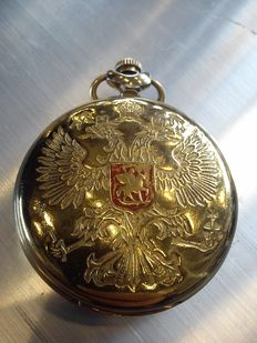 Molnija – Moscow, Russian pocket watch
