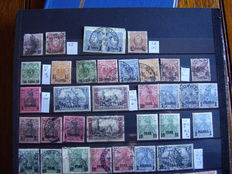 Germany, Foreign Offices and Colonies. Collection of stamps and correspondence.