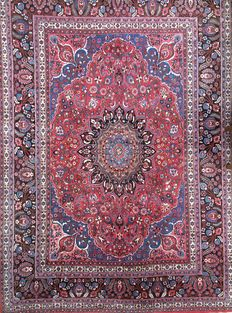Semi-antique Persian Birjand Palace Style Carpet Rug XL 373 x 261cm