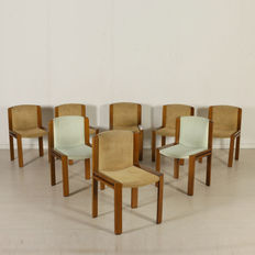 Joe Colombo for Pozzi – Set of 8 chairs