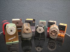 Exceptional Metal, Bakelite and Plastic pencil sharpeners
